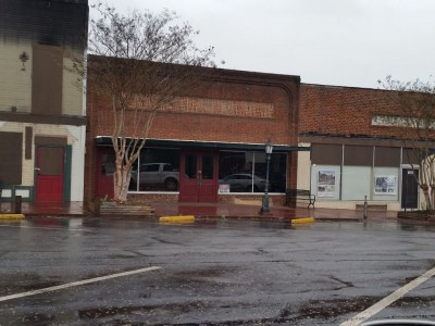Downtown Clarkesville the old Sharky's location and the former martial arts studio
