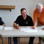 Mayor Gary Morris Councilmembers Adam Tullis and Linda Hughes